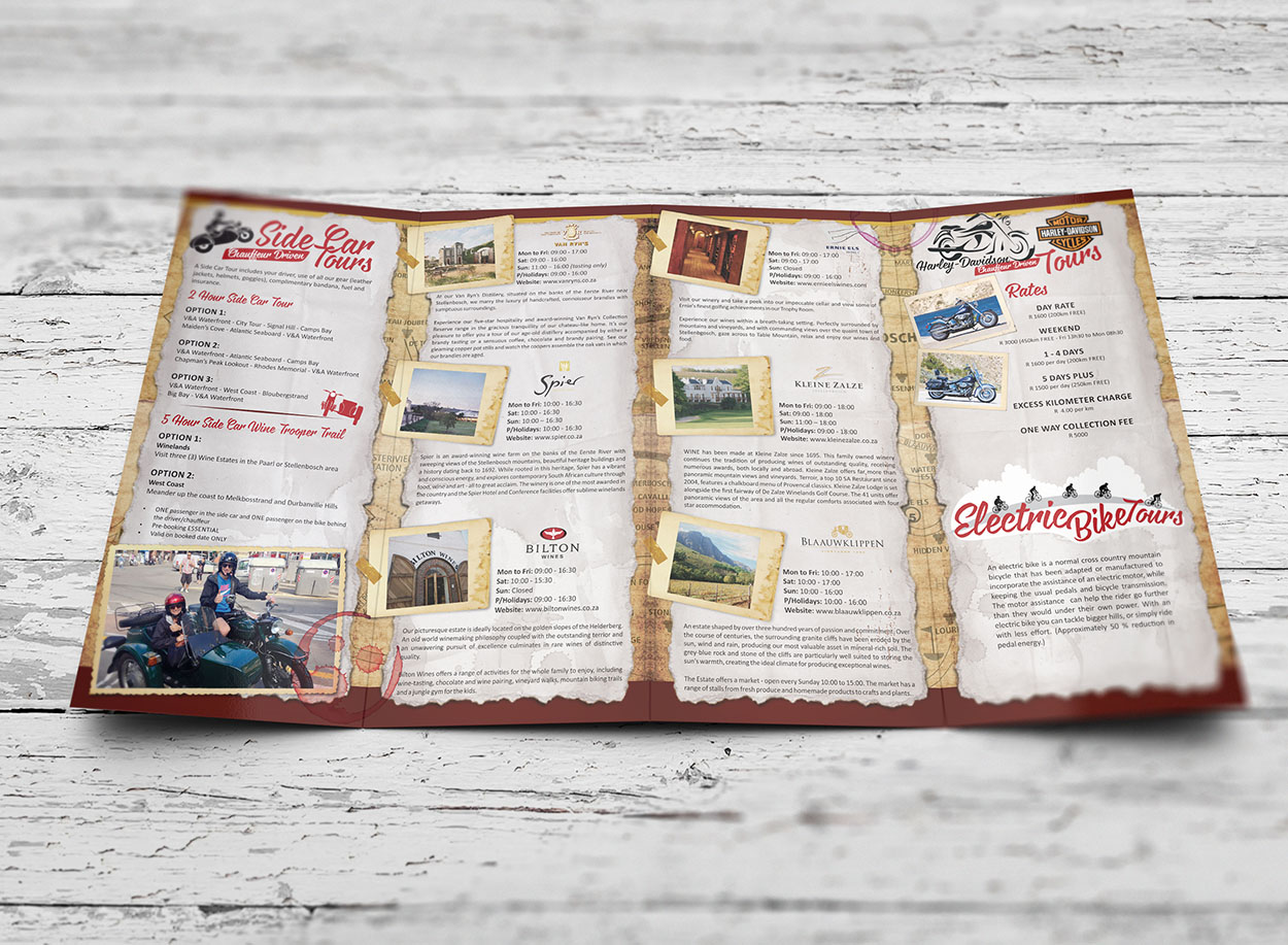brochure design and layout in cape town